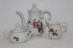 Demitasse Tea Set Believed to be from the by CRAZYMARYSFINDS