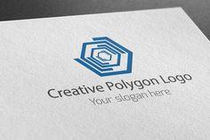 I just released Creative Polygon Logo on Creative Market.