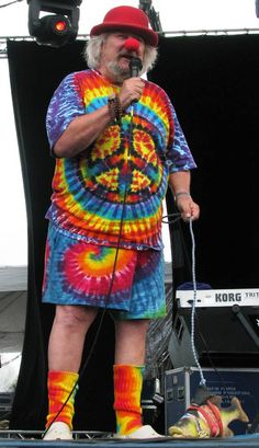 Wavy Gravy, Master of Ceremonies at Gathering of the Vibes at Woodstock