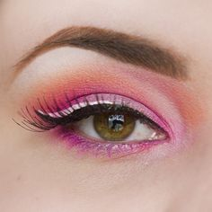 Sailor Chibi Moon inspired Eye Makeup Look created with Sugarpill Dollipop and Tako, Sleek Cosmetics iCandy palette and Lime Crime d'Antoinette palette