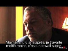 Vincent D'onofrio leaving Criminal Intent Interview