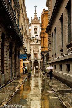 Travessa do Comercio, Rio de Janeiro - Old Town. Brazil