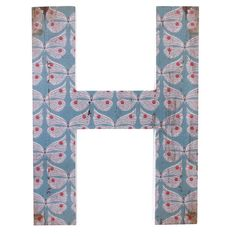 Wholesale 'h' wall plaque - Something Different