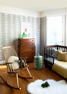 Traditional baby nursery #home #decor #infant