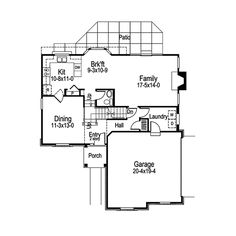 I really like this plan except for the hall