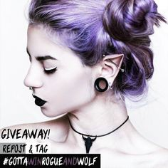 Hey witches & wolves! Don't forget to keep reposting and tagging #gottawinrogueandwolf once a day, as this 'Small Bison Skull' #choker and 5 other prizes could be yours!! ❤👑🌙♦ For more details and ways to enter, check out our blog! ✴//BLOG: therogueandthewolf.com/blog/  GOOD LUCK! 🙊✌