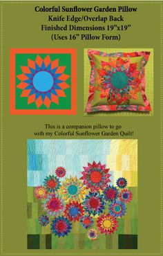 Colorful-Sunflower-Garden-Pillow-Web.gif BY RobinRuth Designs.