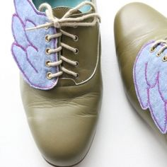 Ever wanted to feel a little lighter on your feet? Isn't it obvious... just add wings to your shoes!