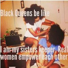 I am my sisters keeper meaning every Race and Religion of Women as your sister.