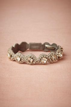 Gorgeous bracelet to add some bling to your special occasion outfits from bhldn.com