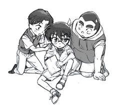 「コナン君の読書邪魔し隊」/「くら桐」の漫画 [pixiv]