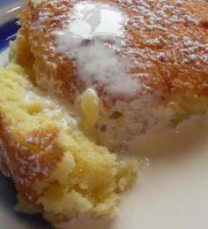 The English Kitchen: Lemon Puddle Cake