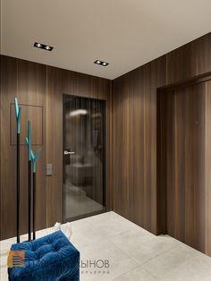 Фото дизайн прихожей из проекта «Дизайн однокомнатной квартиры 49 кв.м. в современном стиле с элементами модерна, ЖК «Skandi Klubb»»