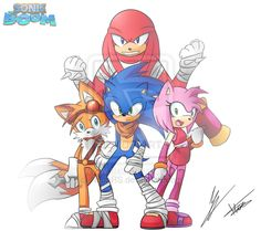 Sonic Boom by NeonRS.deviantart.com on @deviantART