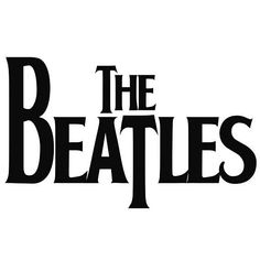 The Beatles Logo - Vinyl Decal Sticker!