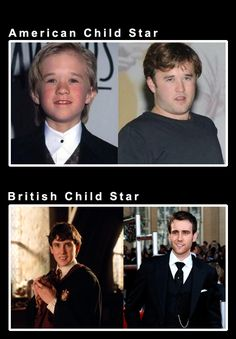American Child Star vs. British Child Star
