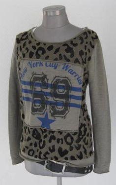T-Shirts mit Print - TRASHIGES LEO LEOARDEN SWEATSHIRT NUMBER 69 - ein Designerstück von secret-of-style bei DaWanda
