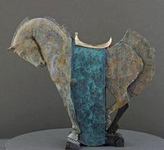 by James Croak Horse Art, Pottery Sculpture, Animals Artwork, Sculpture Art, Animal Art, Animal Sculptures, Horse Sculpture, Clay Art, Art