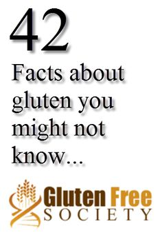 Wusup!? Click to learn 42 facts about gluten and why it'll take you towards the world's smartest lifestyle #health #wealth