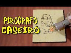 Pirógrafo - Tutorial faça você mesmo - Pyrography Burner - YouTube