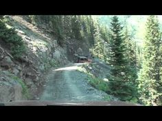 BLACK BEAR PASS, CO: OFFROAD,  I think the husband showed great fortitude in light of his wife's vocal terror.  The music is the 50s I believe!