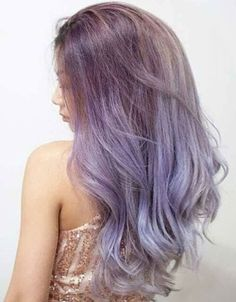 Absolutely Perfect Lavender Hair Color to Look Trendiest This Summer. Transform Your Dull Hair Color into These Eye Catching Lavender Hair Color Ideas for Girls and Women Must Try Now. Lavender Hair Colors, Hot Hair Colors, Bright Hair Colors, Hair Color Asian, Asian Hair, Elegant Hairstyles, Messy Hairstyles, Hairstyle Ideas, Hair Ideas