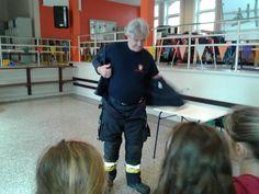IK thema Brandweer: brandweer van Antwerpen op bezoek met de Flamio mobiel!