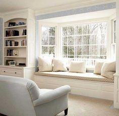 Pencere Önü Koltuk Modelleri -9 - Ev Düzenleme