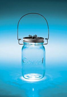 Consol glass has come up with an ingenious way to bottle sunlight. The Consol Solar Jar is an alternative light supply that makes use of solar panels and LED lights.