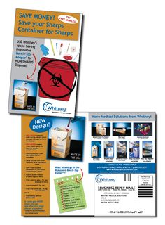 Whitney Medical Solutions - product direct mail brochure