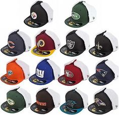 New Era NFL Teams On Field Dog Ear New Mens Fur Winter Fitted Caps Hats Mens a1858e7ae3d