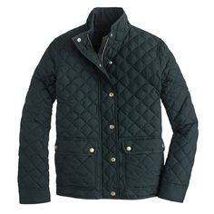 """The perfect """"it's chilly but not quite freezing yet"""" layer. Inspired by the silhouette of our waxed cotton downtown field jacket, this quilted version is super-classic, filled with down and just as versatile as the original"""
