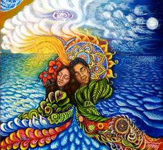 The sacred union of feminine and masculine energies