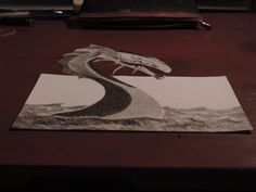 My 3d dragon By Giuliano Bonfanti