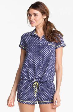 Kensie 'Surf Lodge' Pajama Top