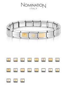 Nomination – composable bracelet: my perfect charms Nomination Bracelet, Nomination Charms, Charm Jewelry, Jewelry Gifts, Jewellery, Birthday Presents For Girls, Hand Accessories, Cute Charms, Girls Jewelry