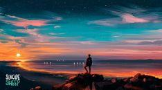 Full Hd Wallpaper, Anime Scenery Wallpaper, Nature Wallpaper, Desktop Wallpapers, 1080p Wallpaper, Sun Background, Background Images, Sunset Landscape, Fantasy Landscape