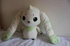 Terriermon Plush by ~GZ97542 on deviantART  Picture for the pattern already pinned