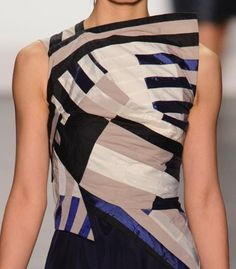 patternprints journal: PATTERNS, PRINTS, TEXTURES AND SURFACES INTO S/S 2017 FASHION COLLECTIONS / NEW YORK 19 - Project Runway