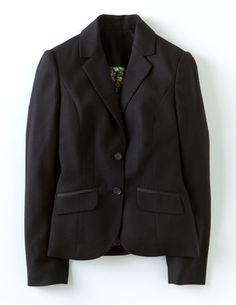 I've spotted this @BodenClothing Chic Wool Blazer Black