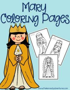 Mary Coloring Pages for Catholic Kids – Diocese Events Mary Coloring Pages for Catholic Kids Mary Coloring Pages – grab this FREE printable! Perfect for Catholic families, homeschooling families, or religious education classrooms. Catholic Religious Education, Catholic Crafts, Catholic Books, Catholic Kids, Catholic School, Religion Activities, Teaching Religion, La Salette, Bible Crafts
