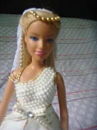 Noiva barbie (vestido artesanalmente de E.V.A) - Bebês e ...