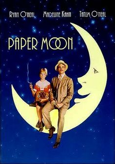 "Paper Moon (1973). A con man (Ryan O'Neal) and his precocious ""daughter"" (Tatum O'Neal, in an Oscar-winning role as Best Supporting Actress) grift their way across the heartland of depression-era America in director Peter Bogdanovich's nostalgic look at the 1930s. As the two try desperately to scrounge up enough money to live on, their ""father/daughter relationship"" soon becomes a business partnership when they realize they need each other for survival."
