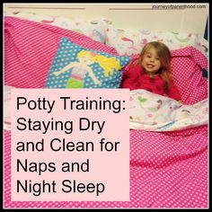 The Journey of Parenthood...: Night and Nap Potty Training