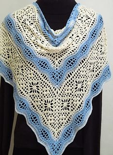 Ravelry: Daisy Chain Shawl pattern by Kirsten Bishop