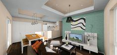この住宅は、「小さな空間」(和室とフリースペース)と「大きな空間」(LDKとテラス)を住まう方の感覚よって活用方法を変化させて頂きたいという想いを込めさせて頂きました。    #オフスタ#OFFDESIGN#オフデザイン#design#デザイン#一戸建テ#木造住宅#住宅#住宅設計#注文住宅#house#リビング#living#ダイニング#dining#キッチン#kitchen#インテリア#interior#家具#木製#オーダーメイド#オリジナル#リフォーム#リノベーション#雑貨#ホテル#パース#cg