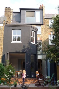 Glebe Road Source by Extension Veranda, Glass Extension, House Extension Design, Roof Extension, House Design, Extension Ideas, Loft Design, Design Design, Up House