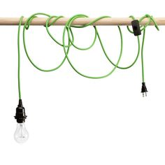 Green Pendant Light Cord | $20