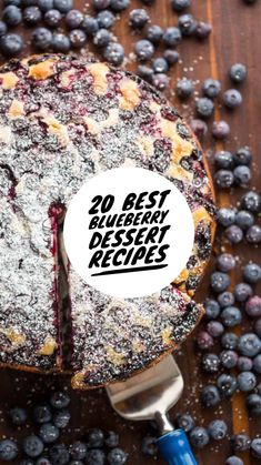 20 Best Blueberry Dessert Recipes: The Most Delicious | Chief Health