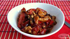Peperoni e uova – Ricetta abruzzese